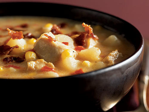 Healthy Cheddar Chicken Chowder Recipe