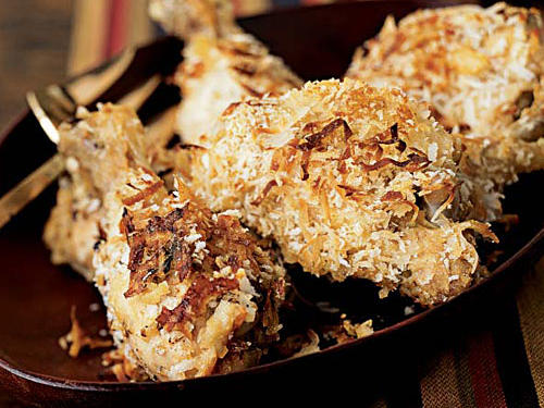 1402 Oven-Fried Coconut Chicken