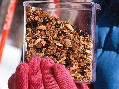 Maple-Almond Granola Recipe