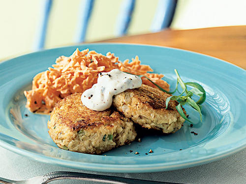 Salmon Croquettes with Rémoulade