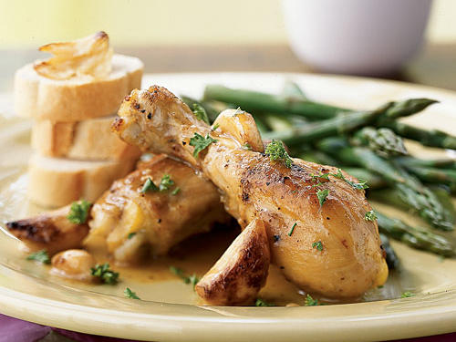 Chicken with 40 Cloves of Garlic Recipe