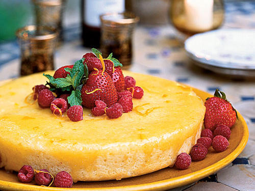 Orange Yogurt Cake (Bizcocho de Naranja)