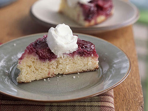 Rich Plum Cake Recipe In Pressure Cooker: Upside-Down Cake Recipes