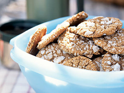 Healthy Molasses Cookies Recipe