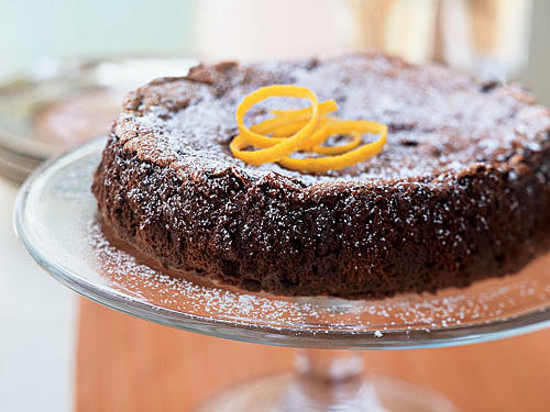 Dark Chocolate Orange Cake