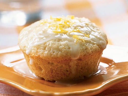 Lemon-Scented Olive Oil Muffins