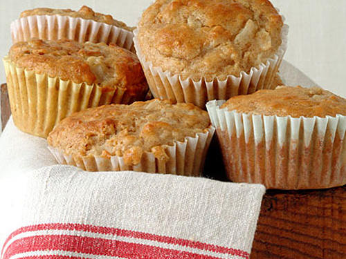 Healthy Muffin Recipes: Pear and Walnut Muffins