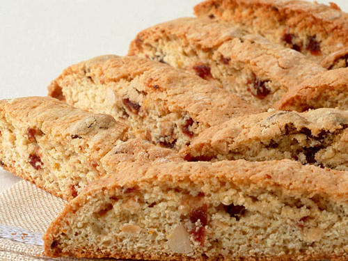 Orange-Infused Cherry-Almond Biscotti