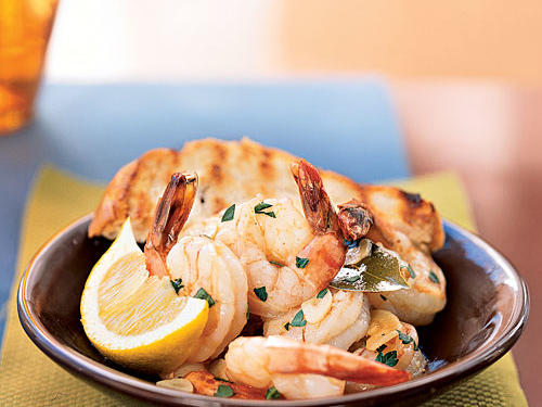 It may not be as well-known as Italian or French, but Spanish cuisine has a way with seafood. Simple preparations like this one add excellent flavors, but still allow the natural essence of the main ingredient to shine through. Use the best, freshest shrimp you can and enjoy its subtle sweetness in this dish. Serve with bread for a simple weeknight dinner, or make it part of a tapas party for a group.