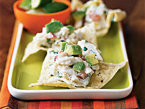 """These appetizers combine sweet crab, Parmesan cheese, jicama, bell pepper, cilantro, and mayonnaise highlighted with fiery chipotles. A little crab goes a long way in these appetizers."" ―Bob Gadsby, Great Falls, MT"