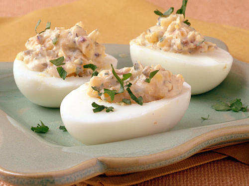 Healthy Provencal Deviled Eggs Recipe