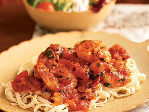 100 Pasta Recipes: Shrimp Arrabbiata