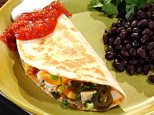 Spicy Chicken Quesadillas