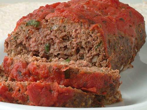 Italian-Style Meat Loaf Healthy Recipe