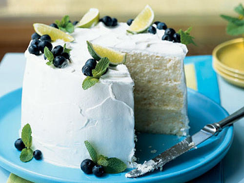 Fresh Lime Chiffon Cake Birthday Recipe