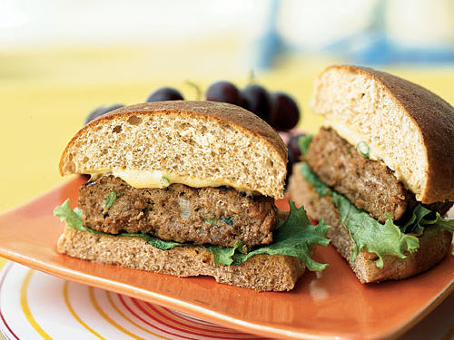 Healthy Turkey Burgers with Special Sauce Recipe