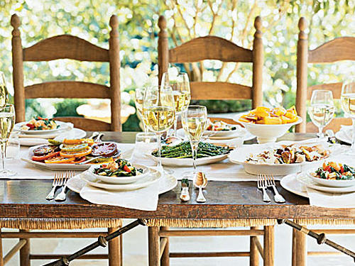 9 Tips For Beautiful Tables Cooking Light