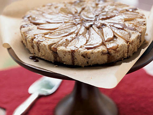 This attractive cake is a good choice to round out any menu. Use Bartlett or Anjou pears, if you prefer.