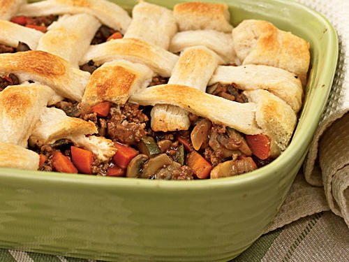 Beef and Vegetable Potpie Recipe