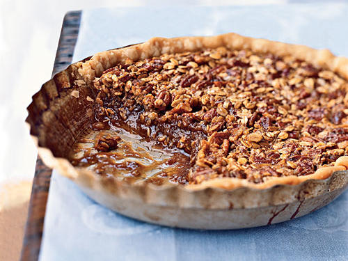 Pecans make it nutty, oats make it hearty, and together they make this pie a classic whenever you want something sweet and delightful.