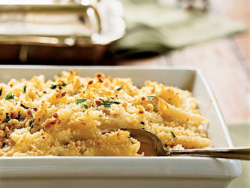 100 Pasta Recipes: Fontina and Mascarpone Baked Pasta