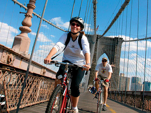 Bicycle rides are a great way to explore our 15th-ranked city.