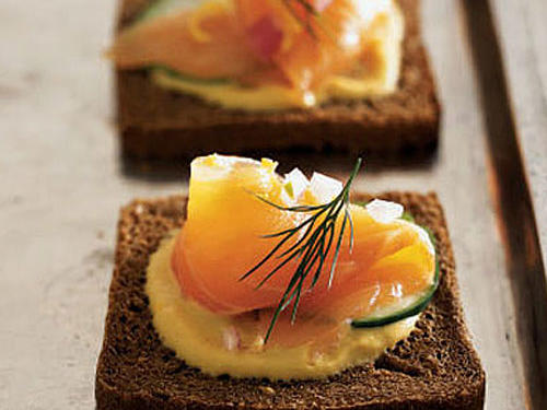 Serve this buttery-soft cured salmon as an appetizer on brown bread with fresh dill, Dijon mustard, thinly sliced cucumbers, and grated lemon rind. We found that high-quality wild salmon yields the best results.