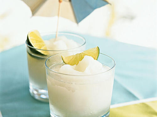 Frozen Lemonade with Coconut Rum
