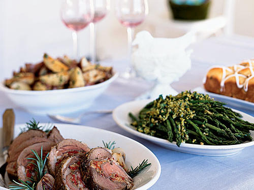 Easter Dinner Menus and Recipes