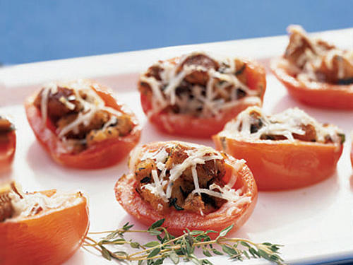 Herbed Bread-Stuffed Tomatoes Whole-Grain Recipe