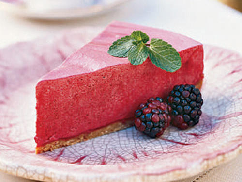 Frozen Blackberry-Lemon Chiffon Pie Recipe
