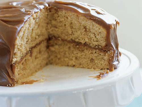 Caramel Layer Cake Birthday Recipe