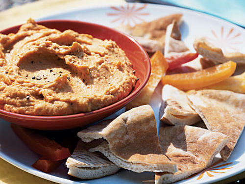 Quick and Healthy Red Pepper Hummus Recipe
