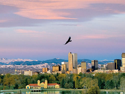 The mile-high city ranks seventh on our list of favorite destinations.
