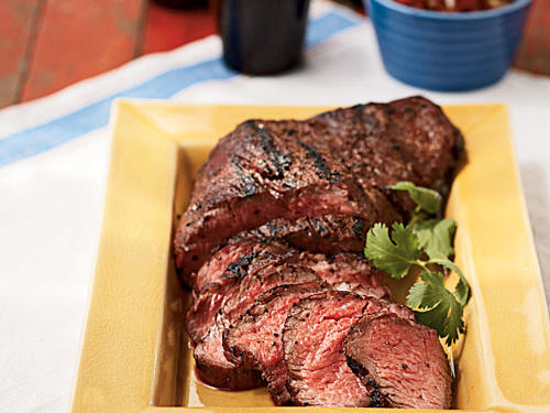 Flavorful tri-tip steak is a cut of beef also known as bottom sirloin or sirloin tip. Compared to other styles of barbecue, this recipe for smoked tri-tip comes together quickly, making it ideal for a weeknight dinner.