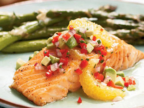 Serve this smoky, flavorful salmon with Roasted Asparagus with Dijon-Lemon Sauce to round out the meal.