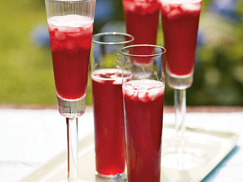 Adding Champagne to the menu is the fastest way to elevate any occasion. Our collection of Champagne and sparkling wine cocktails uses fresh fruit, juice, and bitters for tasty combinations that are guaranteed to impress guests.