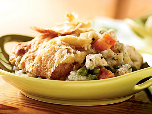 Chicken and Root Vegetable Potpie