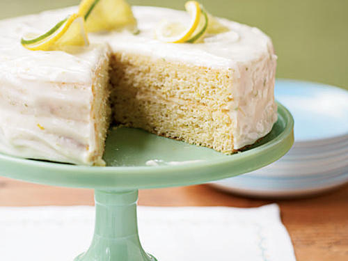 Lemon-Lime Layer Cake Birthday Recipe