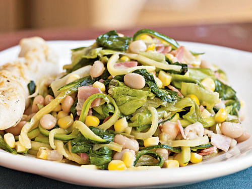 Legumes like beans and lentils provide a healthy trifecta of protein, carbohydrates, and fiber making this recipe a good pack-ahead option for a post-workout lunch. The combination of protein and carbs helps refuel tired muscles and replenish energy stores.Recipe: Sautéed Escarole, Corn, and White Bean Salad
