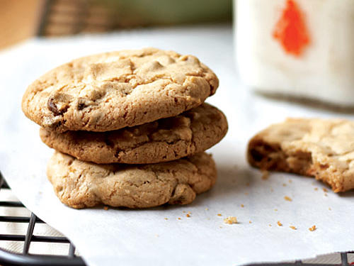 Kahlúa makes a subtle, yet delicious appearance in this chocolate chip cookie recipe. No liqueur? Simply substitute strong freshly brewed coffee.