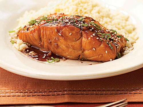 This recipe receives rave reviews, even from picky eaters who don't normally try salmon.