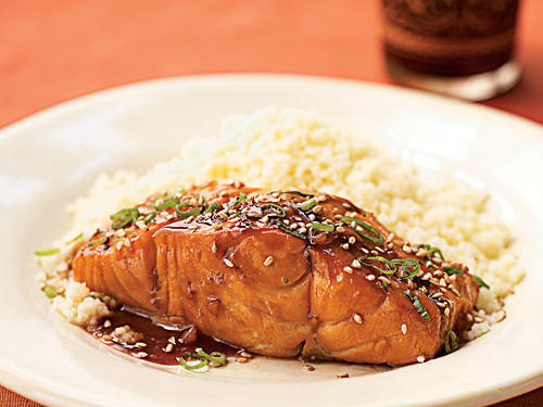 "Smarty really loves this versatile and easy recipe, writing, ""This is hands down one of my most favorite recipes. It's simply amazing. It's a complete knockout. Make sure to line the broiler with aluminum foil, though, as it does leave a bit of a sticky mess behind. I'm made it with salmon (my favorite) and chicken (also good, but not as good as the salmon). You'll love this. Make it tonight."""