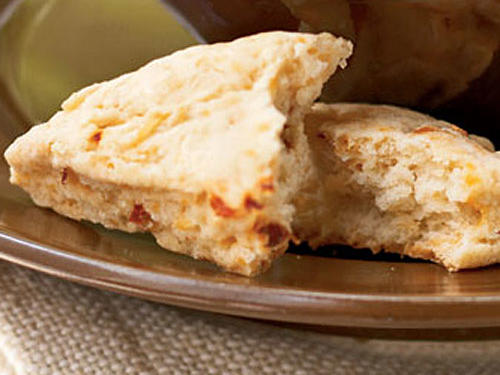 Partner these savory scones with soups and salads. Freeze for up to three months.