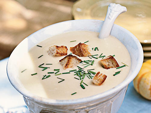 Healthy Beer-Cheddar Soup Recipe
