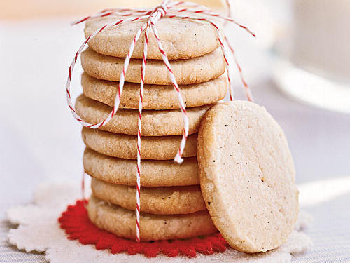 If you like Chai, the traditional Indian spiced tea, you'll love these cookies. Classic shortbread crunch meets fragrant cardamom, cinnamon, cloves, and black pepper (yes, black pepper!) in an innocent-looking cookie with an invisibly scrumptious twist.