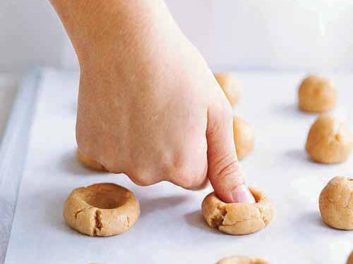 Image result for shaping biscuits with hands