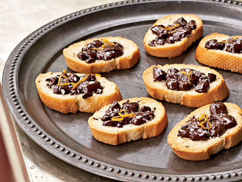 Superfast Holiday Dishes Chocolate Bruschetta