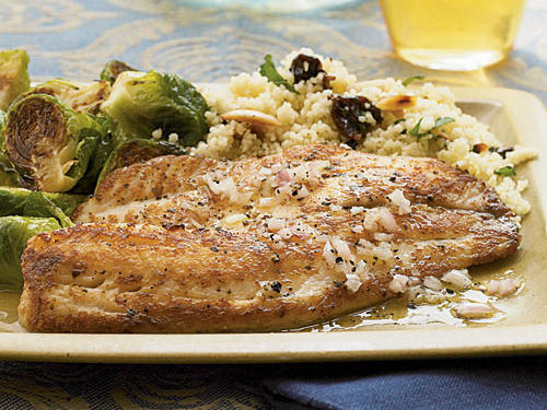 Sherry vinegar is mildly acidic, which gives the tilapia a tangy flavor. If you can't find it, substitute white wine vinegar.