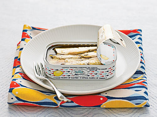 Image of can of sardines.